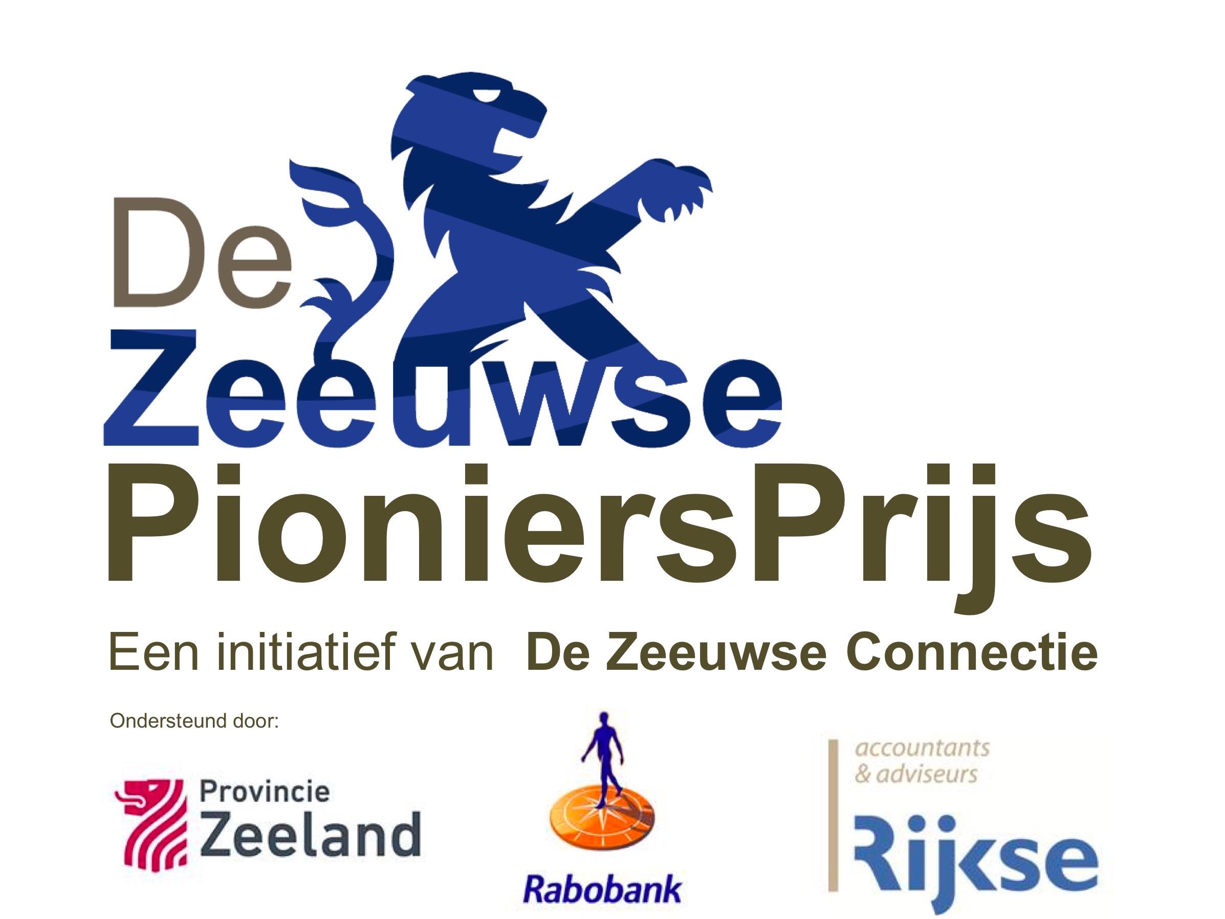 Walhout Civil Zeeuwse pioniersprijs