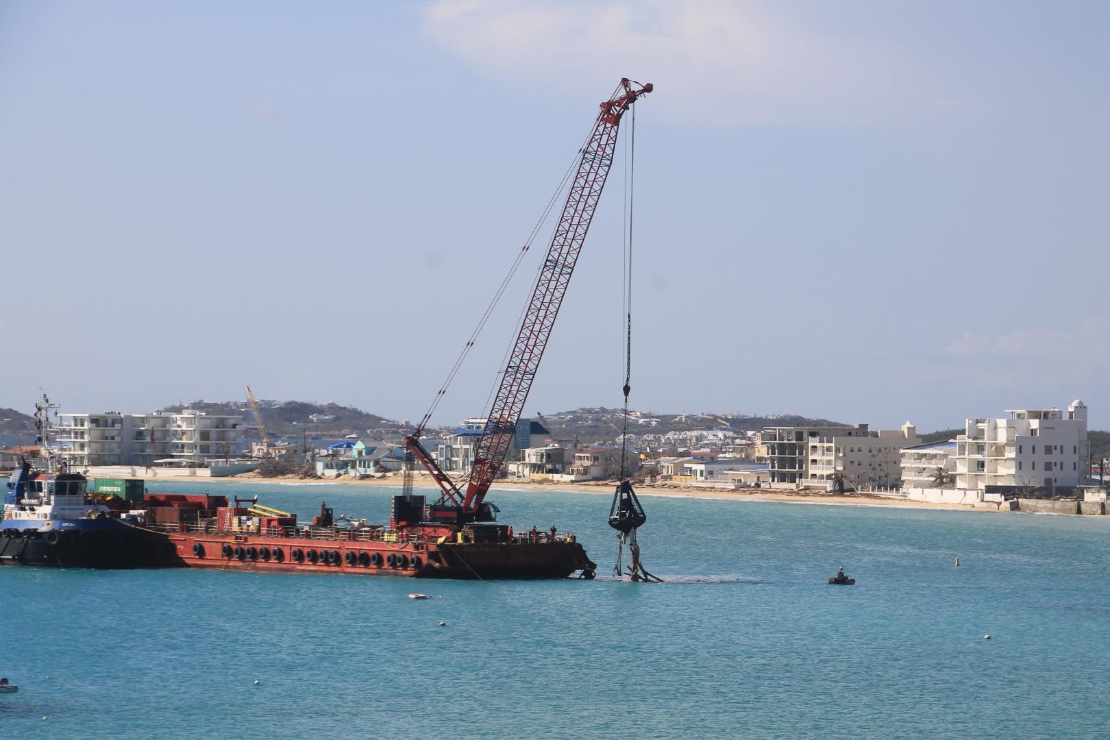 Baggerwerkzaamheden-Sint-Maarten