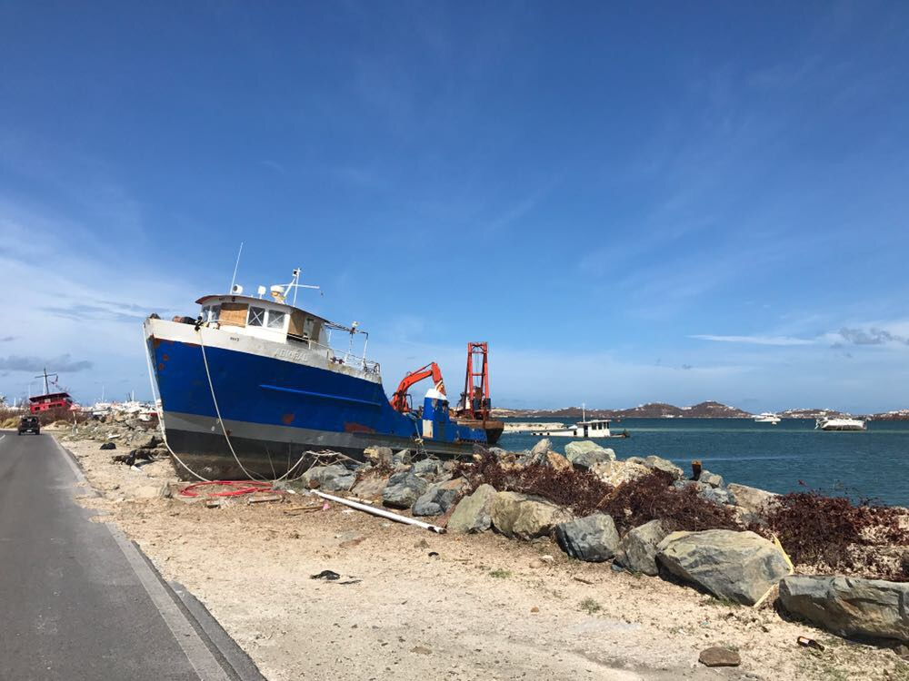 Recovery of ports and sea defences of St  Martin, Saba & Statia